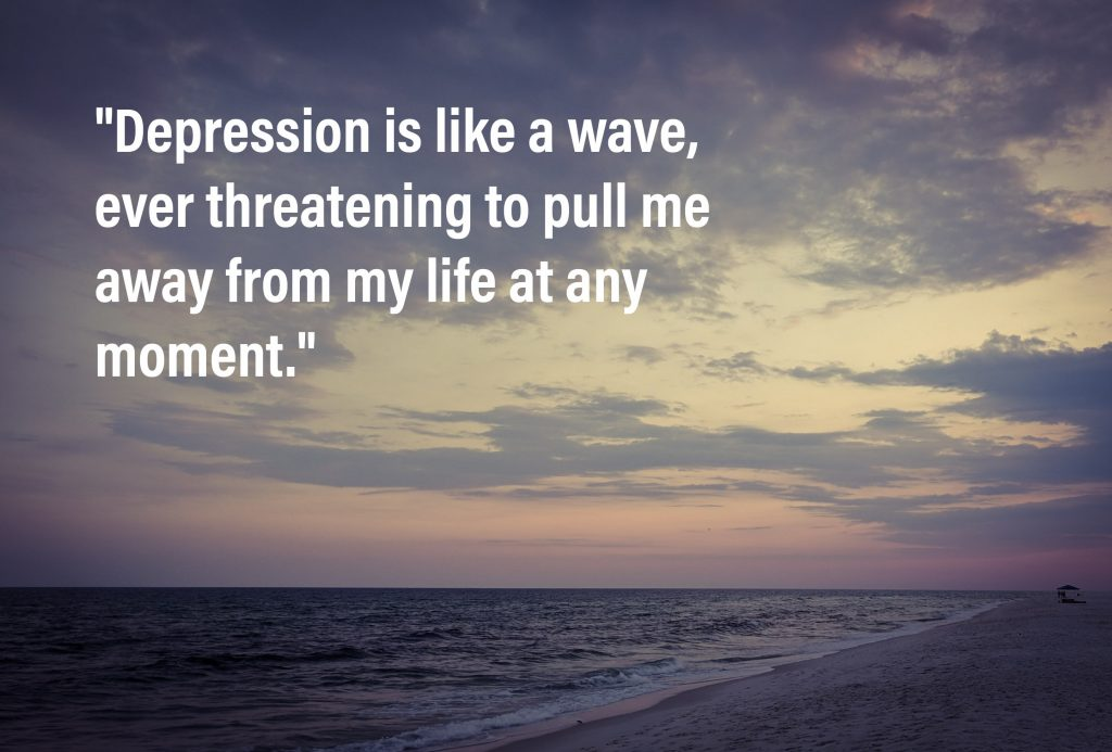 Depression is like a wave