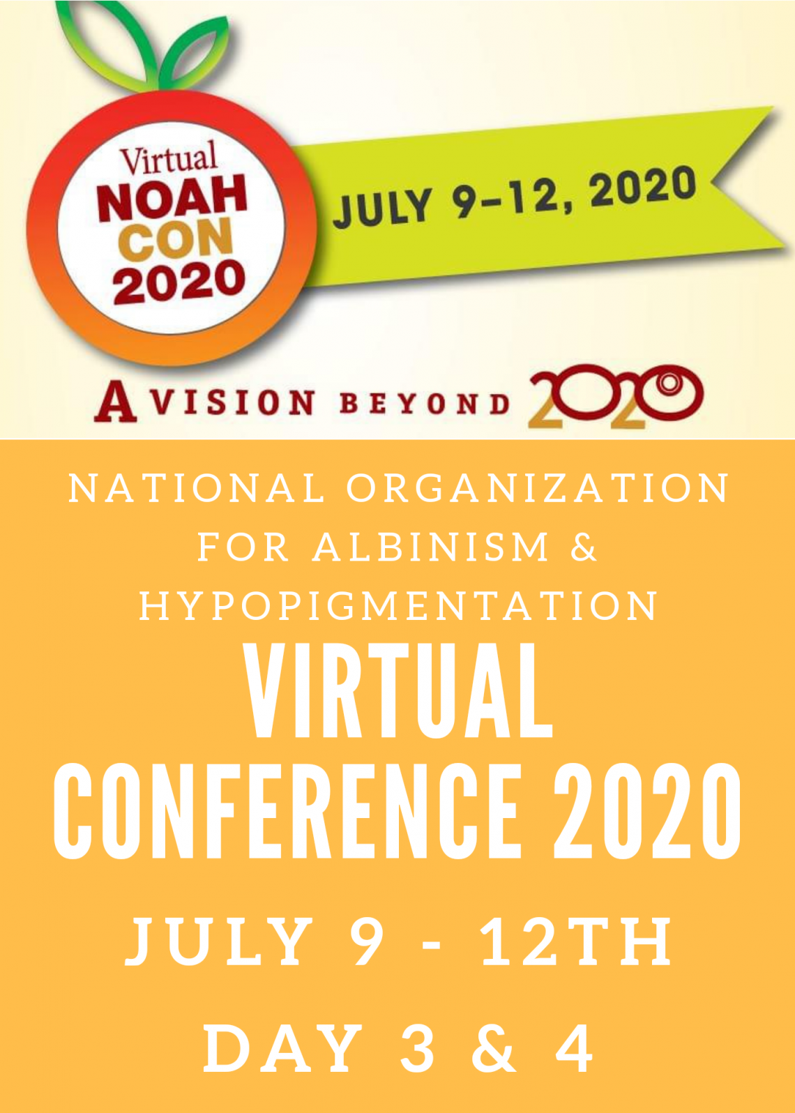 NOAH Virtual Conference Day 3 & 4